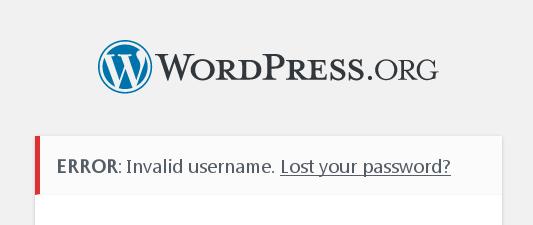 45318 (Security problem: Login Oracle) – WordPress Trac